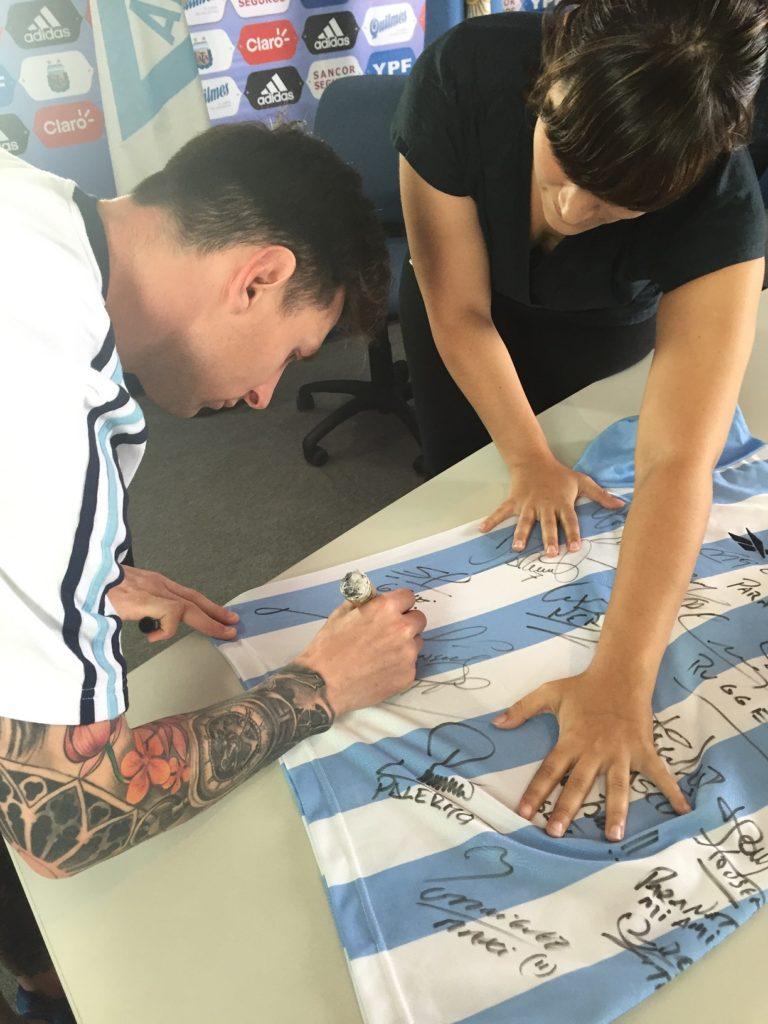 Creaxion Sports Marketing en Alma de Potrero junto a Lionel Messi
