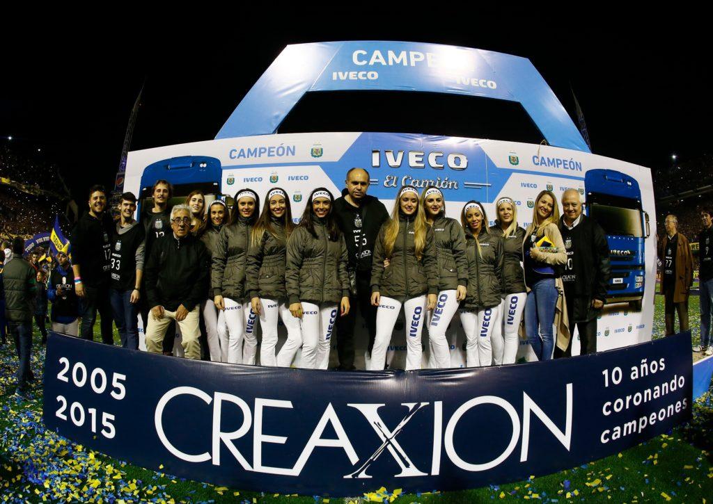 Boca Juniors Campeón 2015 - IVECO