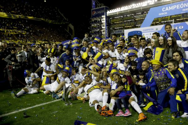 Boca Campeón Torneo Largo 2015